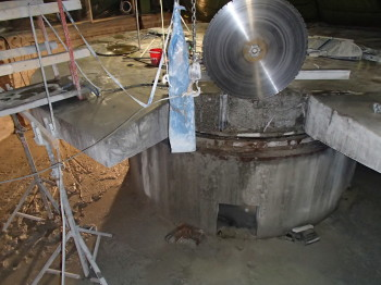 Dismantling of a Cable Drum Foundation