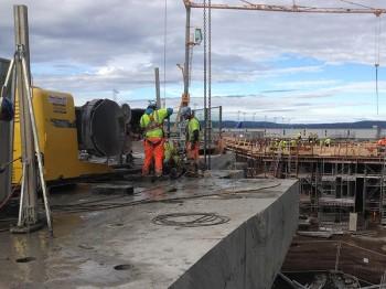 Wire Cutting Bridge, Gardermoen