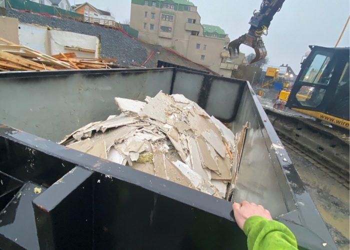 Avfalls container